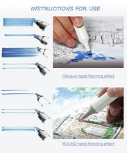 Load image into Gallery viewer, Multiple Colors Artist Dual Head  Copic Markers Set School Drawing Sketch Oily Amine Design Designer_PWM