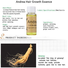 Load image into Gallery viewer, 10ml/20ml Original Andrea Hair Growth Pilatory Essence Oil Baldness Alopecia anti Loss