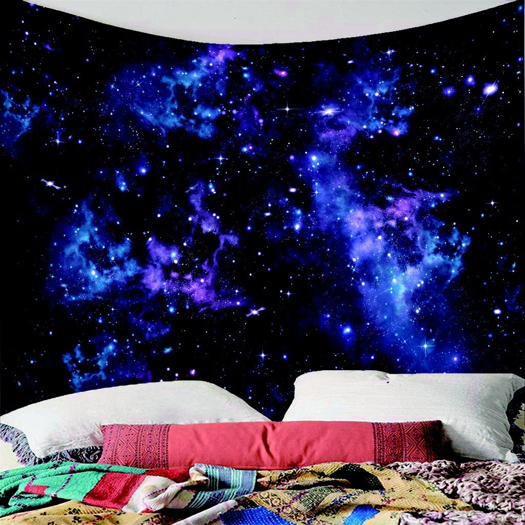 Mandala Tapestry Wall Hanging Hippie Big Tapestry Blanket Psychedelic Tapestry Sky Tapestry