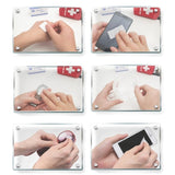 100pcs Disposable Cotton Sterilization Alcohol Wipe Pad First Aid Disinfection