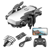 1pc 2020 Folding Mini Drone with RC Quadcopter with HD Quad-Counter Camera with High Control RC Helicopter