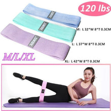 Load image into Gallery viewer, Unisex Booty Band Hip Circle Loop Resistance Band Workout Exercise for Legs Thigh Glute Butt Squat Bands Non-slip Design Yoga Belt Fitness