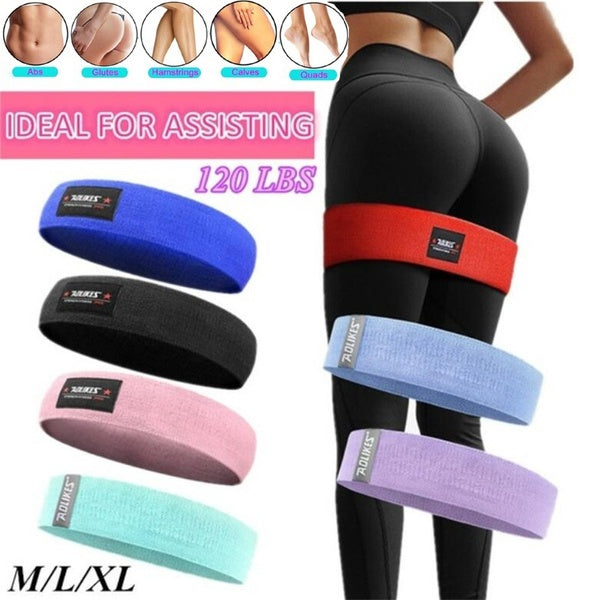 Unisex Booty Band Hip Circle Loop Resistance Band Workout Exercise for Legs Thigh Glute Butt Squat Bands Non-slip Design Yoga Belt Fitness
