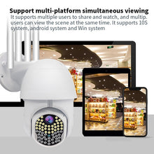 Load image into Gallery viewer, 63 LEDs 4 Antenna 5x Zoom IP Camera Onvif Wifi HD 1080P Full Color Night Vision Smart Home Security Surveillance