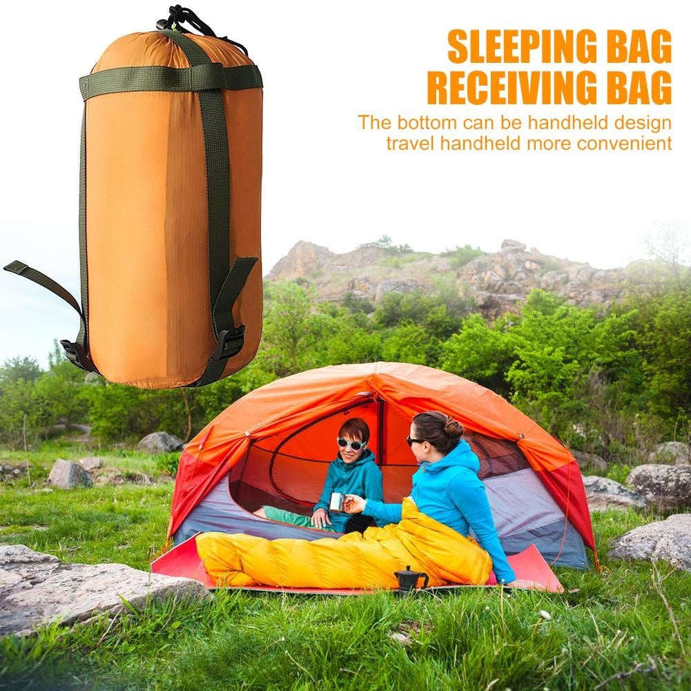 Outdoor Portable Sleeping Bag Compression Packs Stuff Sack Travel Storage Bags