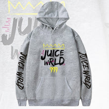 Load image into Gallery viewer, Fashion Letter Printed Hoodies Juice Wrld 999 Long Sleeve Casual Hooded Sweatshirt Pullover