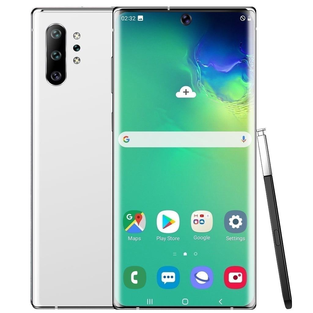 2020 Note10pro Smartphone with 8 +512 GB Large Memory 6.8inch Full Screen Support Face Unlock 32 Million HD Rear Cameras Double Sim Card 10 Cores 4G Dual SIM Mobile Phone