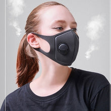 Load image into Gallery viewer, Fashion Dustproof Mask 1Pcs Military Grade Anti Air Dust and Smoke Pollution Mask with Adjustable Straps and a Washable Respirator Mask Made For Men Women and Kids