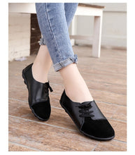 Load image into Gallery viewer, Women's Shoes Casual Wild Single Shoes Low-top Comfortable Lace Shoe