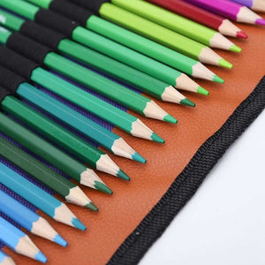 72 Colors Fine Art Drawing Non-Toxic Oil Based Pencils Set For Sketch School