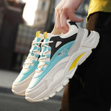 Fashion Sneakers for Men Outdoor Sports Shoes with Platform Casual Shoes Running Shoes for Men Tennis Shoes Street Style Trainers EU38-44