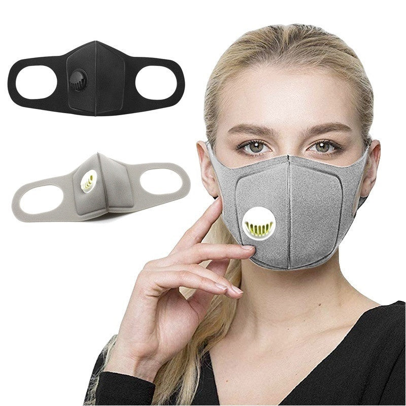 1PCS Unisex Anti Pollution Mask Dust Respirator Washable Reusable Masks  for Allergy/Asthma/Travel/ Cycling