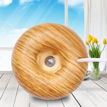 Load image into Gallery viewer, 130ml USB Electric Humidifier Essential Aroma Oil Diffuser Ultrasonic Wood Grain Air Humidifier USB Mini Mist Maker LED Light for Home & Office
