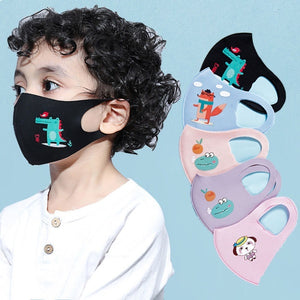Masks, women, men and children stars net red with printed sunscreen spring and summer thin tide dustproof breathable washable