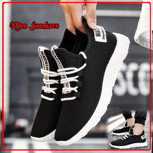 Load image into Gallery viewer, Men's Lightweight Running Walking Shoes Non-Slip Soft Sole Lace Up Breathable Athletic Sneakers Sports Shoes