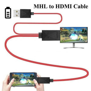 MHL Micro USB to HDMI 1080P HD TV Cable Adapter For Android Phones Samsung
