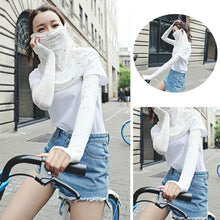 Load image into Gallery viewer, 2PCS Floral Print Ice Silk Arm Sleeves Outdoor Sport Cycling Sun UV Protection Hand Cover For Women