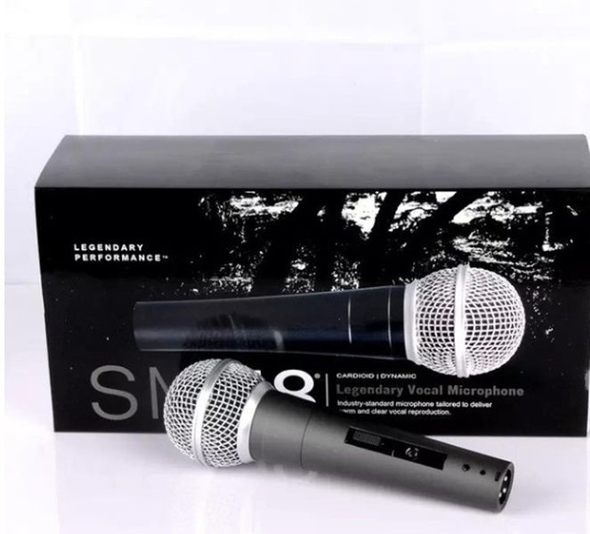 New Upgrade FASHION SM58-LC Dynamic Coil Instrument Microphone High-quality Professional Stage Recording Microphone