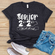 Load image into Gallery viewer, Senior 2020 Gift for Her, Seniors Friends Class of 2020 This Just Got Real Shirt Graduation Gift The One Where They Graduate