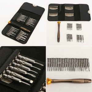 Repair Tools Set 25 in 1 Precision Torx Screwdriver for iPhone Laptop Cellphone Electronics Hand Tool