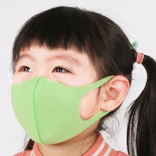 Load image into Gallery viewer, 3pcs Kids Outdoor Cycling Anti Dust Haze Sponge Mouth Face Mask Respirator Face Masks