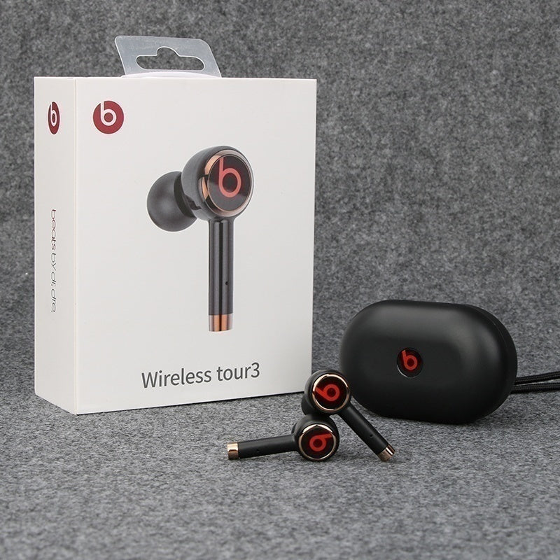 2021 Upgrade Refurbished 1:1Beats Wireless Tour3 In Ear Earphones Wireless Bluetooth Earbuds with Charging Case for IOS/Android