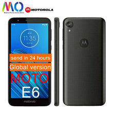 Load image into Gallery viewer, Original Motorola E6 MOTO XT2005 Android 9.0 2GB 16GB 13.0MP Camera 4G LTE 5.4 inch Snapdragon Mobile phone Include FCC ID OTA