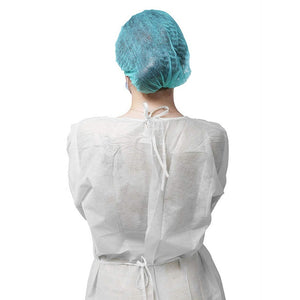 10pcs/lot Disposable Isolation Surgical Gown Non-woven Security Protection Suit Disposable Protection Clothes