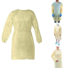 Load image into Gallery viewer, 10pcs/lot Disposable Isolation Surgical Gown Non-woven Security Protection Suit Disposable Protection Clothes