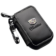 Load image into Gallery viewer, Car Key Holder Case Leather Key Chain Wallet Bag Cover Fobs for For Hyundai Peugeot Nissan and Other All Cars