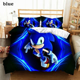 3d Bedding Sets Cover and Pillowcase Kids Bedding Home Textiles 3d Digital Printing Sonic the Hedgehog