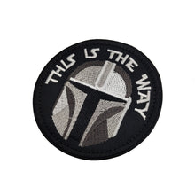 Load image into Gallery viewer, This Is The Way Embroidery Patch Tactical Morale Military Sparta Sticker Decal Army Operator Helmet Tactical Morale Patches Applique Embellishment