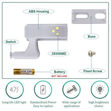 Load image into Gallery viewer, Cabinet Closet Automatic LED Hinge Light White Intelligent Induction lamp Home Kitchen Supplies(NOT INCLUDE BATTERY)
