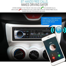 Load image into Gallery viewer, JSD-520 Bluetooth Car Audio Player Car Radio Stereo Autoradio 12V In-dash FM Aux Input Receiver SD Card Slot USB MP3 MMC WMA