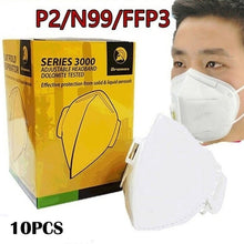 Load image into Gallery viewer, Professional Health Care Accessories Non-Woven Anti Fog Anti Haze Mouth-muffle Mask Eco- friendlyKN95/N95