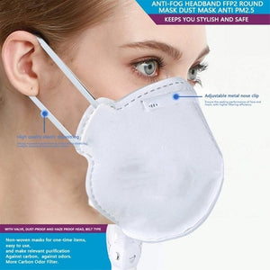 Professional Health Care Accessories Non-Woven Anti Fog Anti Haze Mouth-muffle Mask Eco- friendlyKN95/N95