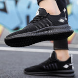 Mens Spring Sunmmer Lightweight Jogging Shoes Breathable Casual Walking Running Sneakers Comfotable Athletic Sport Shoes  EU 39-48