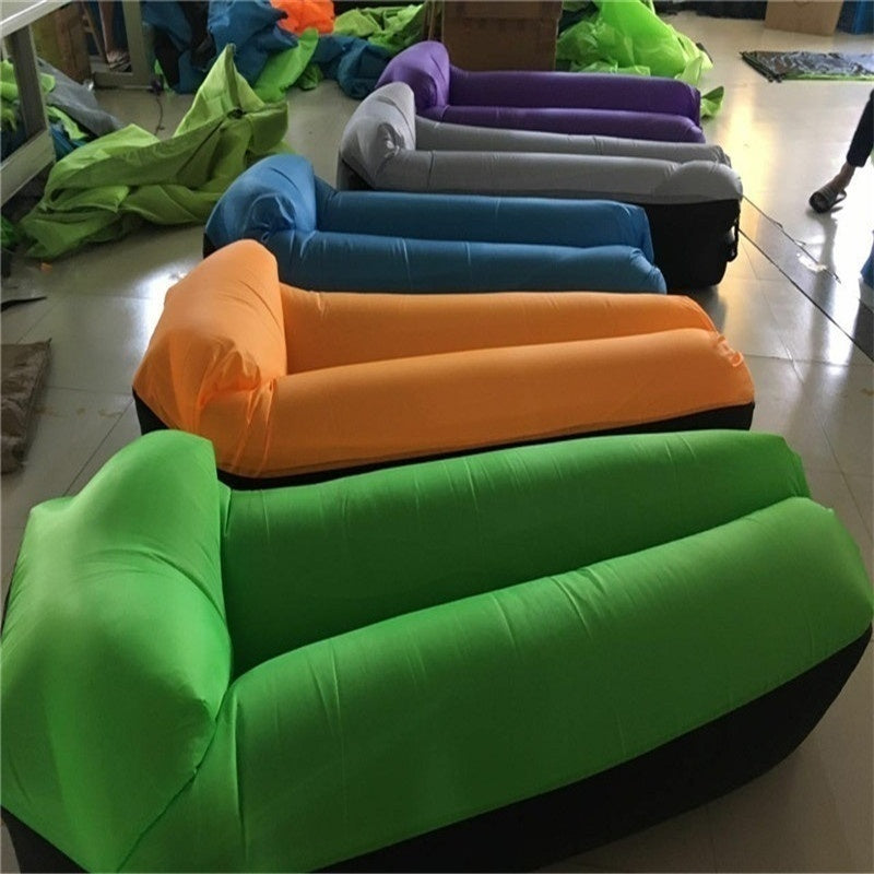 High Quality Fast Inflatable Lazy Sofa Lounger Air Sofa Unicorn Bean Bag Chair Outdoor Beach Lounger
