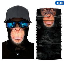 Load image into Gallery viewer, 18 Styles New 3D Printed Animal Mask Seamless Bandana Headband Multifunction Bandanas Scarf Dust-Proof Anti-Pollution For Motorcycle Bike Hiking Sun Wind Protect