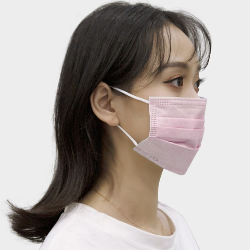 The Secret Of Chinese Overcome  -Disposable Non-woven Anti-dust Face Mask Anti-haze Breathable Dust Mask with Elastic Earband Pink 10/20/50pcs