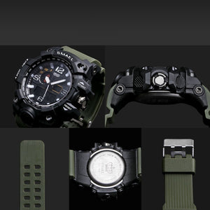11 Colors Men Digital LED Military Watch 50M Waterproof Sport Watch Army Wristwatch Relogio Montre Homme