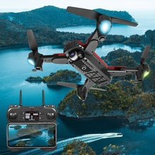 Load image into Gallery viewer, The latest upgraded remote control drone S167 Pro quadrotor drone with 1080P / 4K (4096P) HD FPV 120 ¡ã wide-angle camera + optical flow positioning + V gesture + gesture video + 5G Wifi real-time transmission + long-term flight + gravity sensing