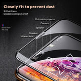 2 PCS 10D Protective Glass for iphone11 iphone 11 Pro iphone 11 Pro Max iPhone X XR XS Max Glass Screen Protector