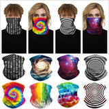 Microfiber Seamless Neck Gaiter Bandana Face Scarf Tube Face Mask Motorcycle for Women Men