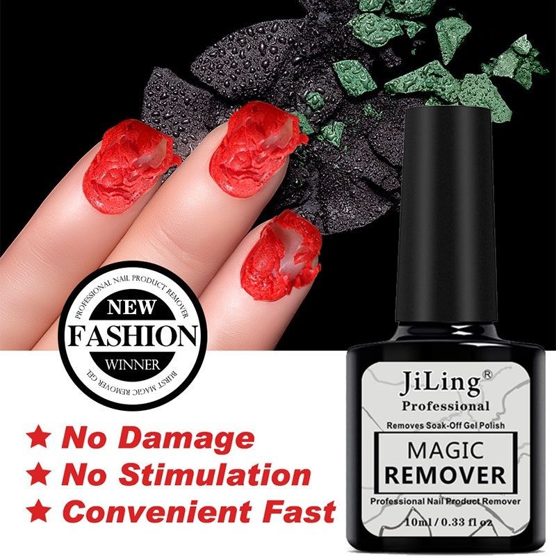 UV LED Gel Magic Remover Nail Polish Burst Nail Polish Degreaser Nail Art Primer Lacquer Remover Liquid