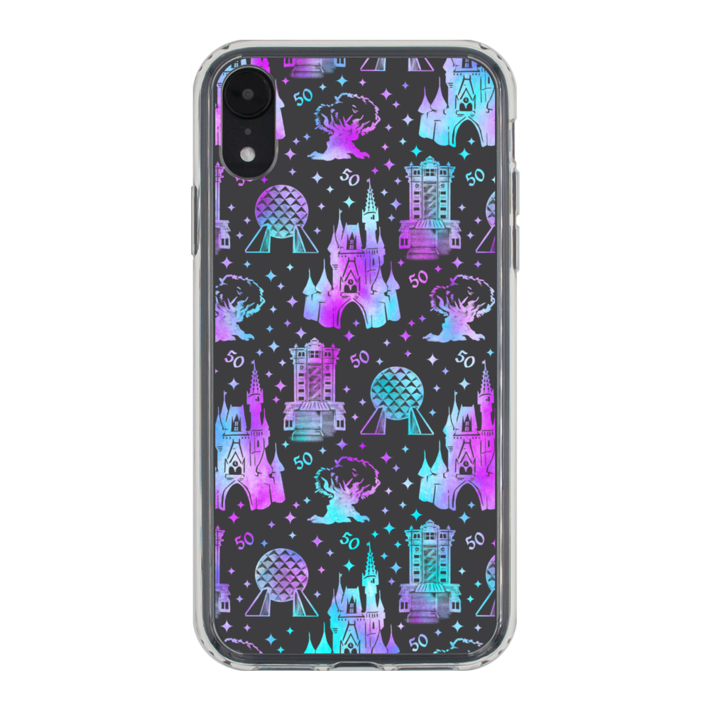 50th Anniversary WDW Phone Case iPhone XR