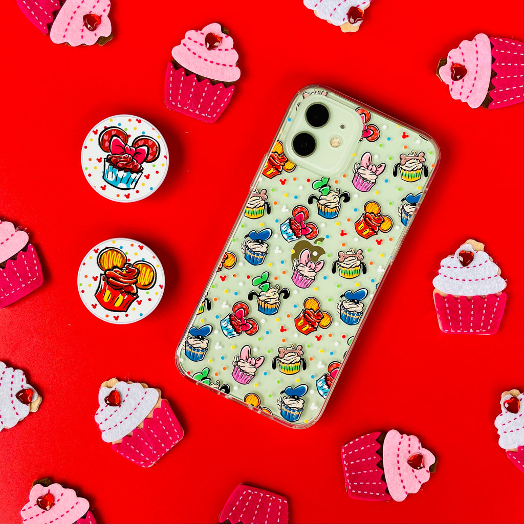 Bake It Happy Phone Case and Phone Pop Socket Grip