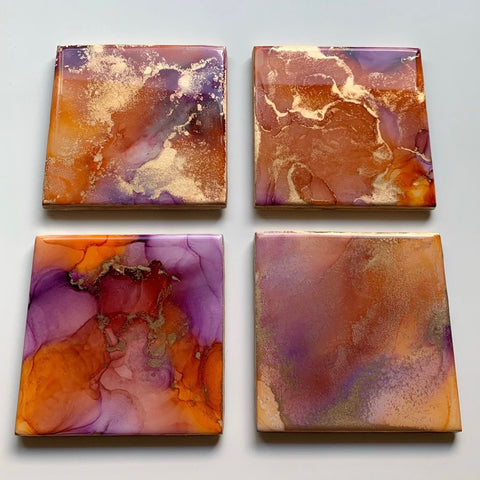 Abstract Art Coaster Set