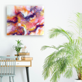 Abstract Mixed Media Wall Art