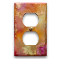 Abstract Art Wall Plate